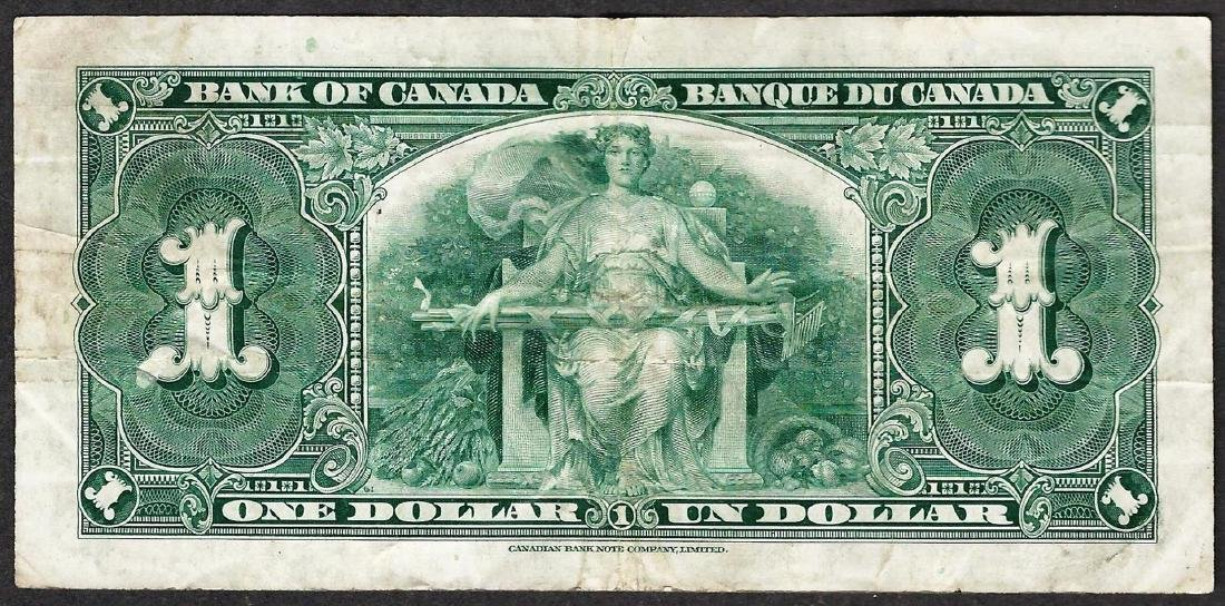 1937 $1 Bank of Canada Note - 2