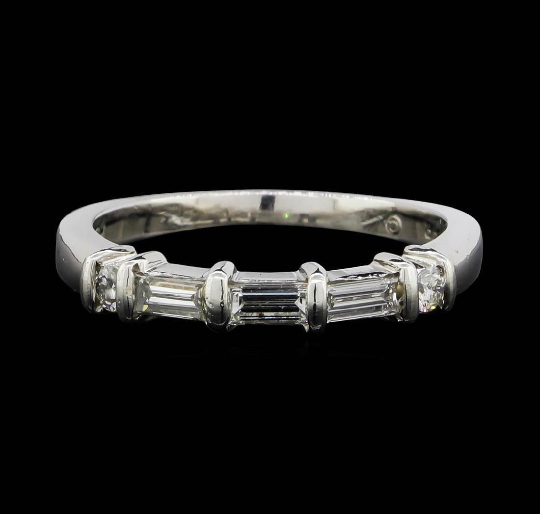 Jeff Cooper Platinum 0.46 ctw Diamond Designer Ring