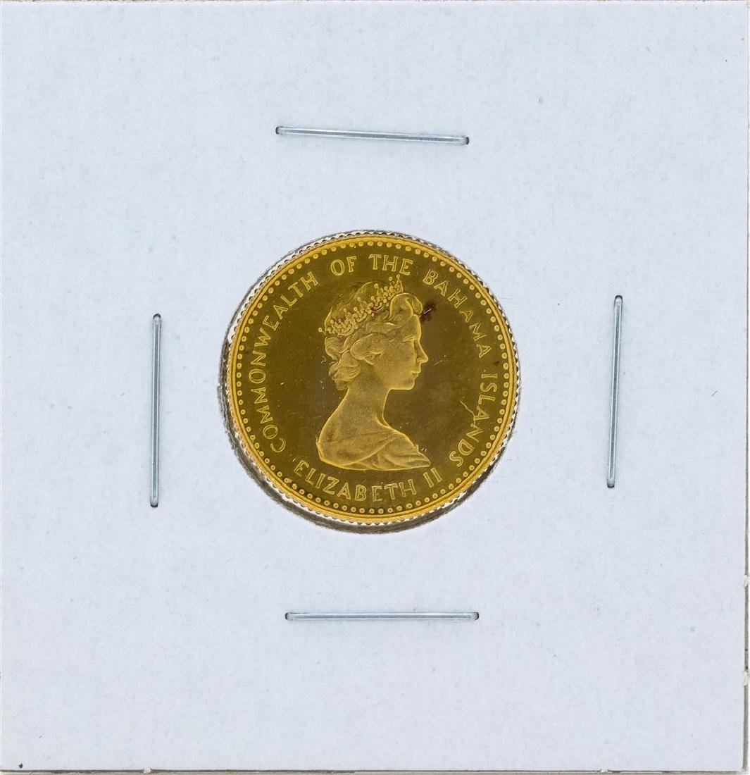 1971 $10 Commonwealth of the Bahamas Gold Proof Coin