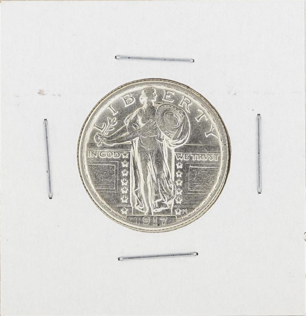 1917 Standing Liberty Quarter Silver Coin