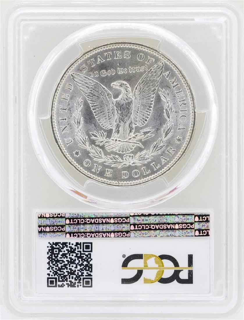 1889 $1 Morgan Silver Dollar Coin PCGS MS62 - 2