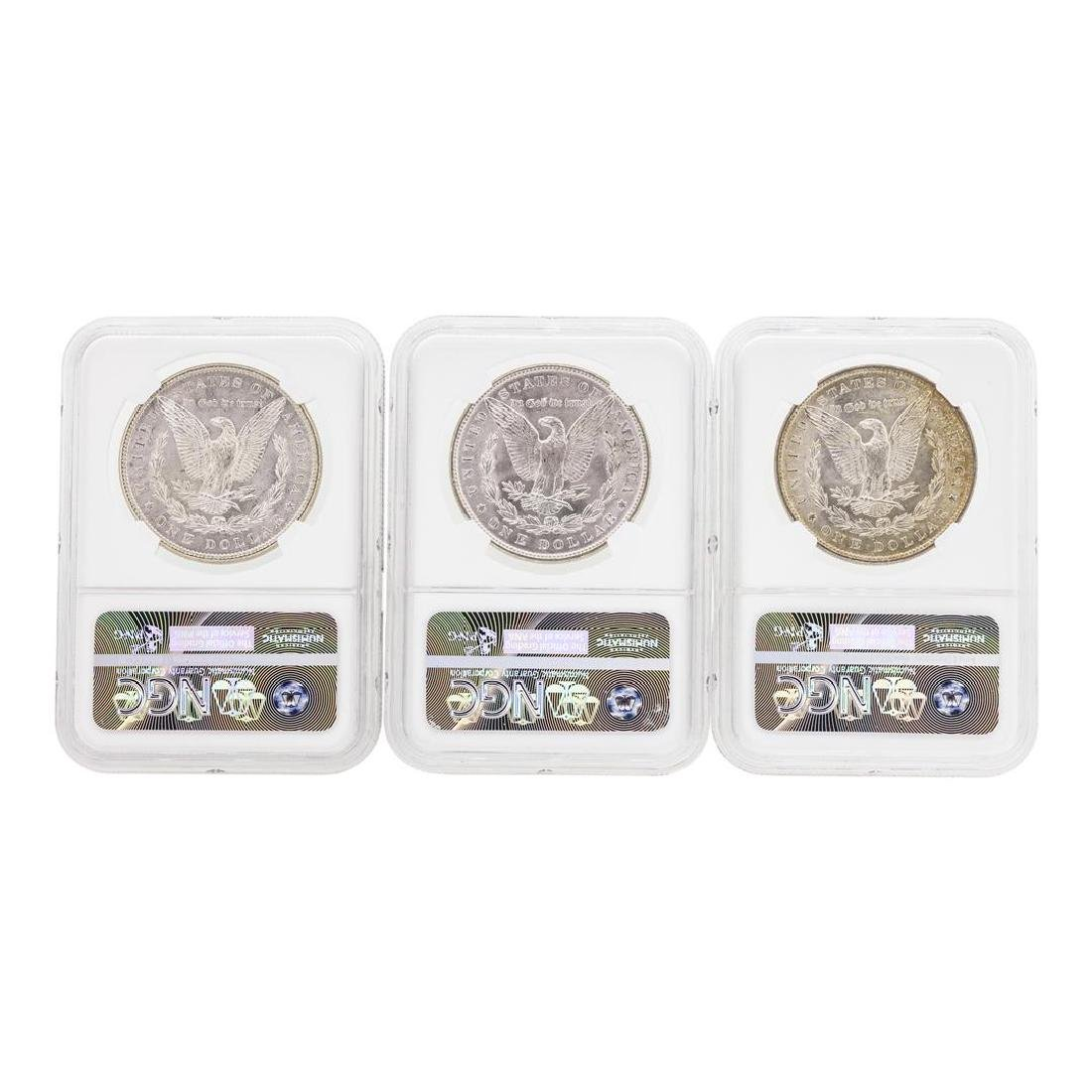 1885-1887 $1 Morgan Silver Dollar Coins NGC MS63 - 2