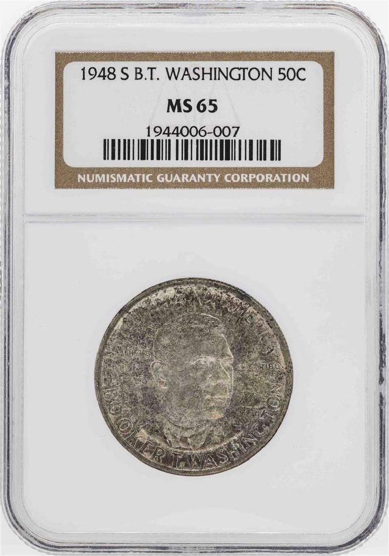 1948-S Booker T. Washington Memorial Half Dollar Coin