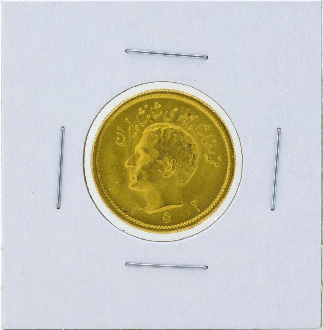 Iran 1 Pahlavi Gold Coin