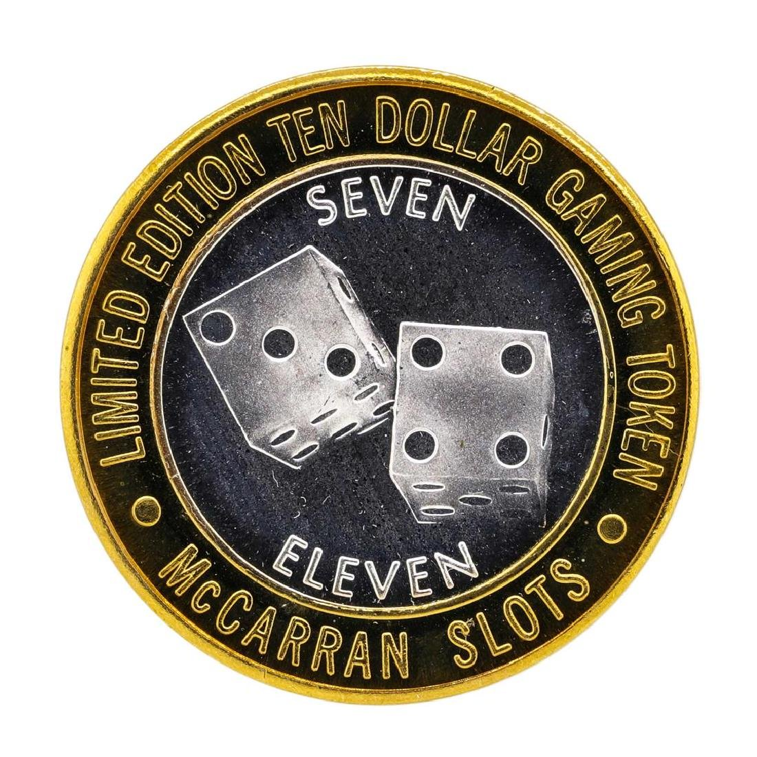 .999 Silver McCarran International Airport $10 Casino