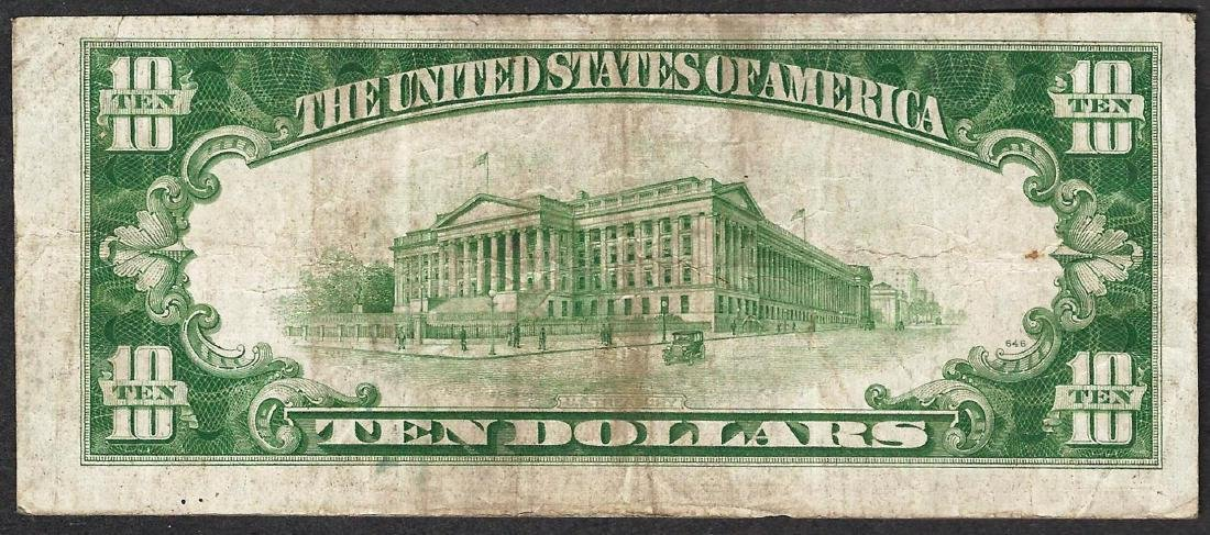 1934A $10 Federal Reserve STAR Note - 2