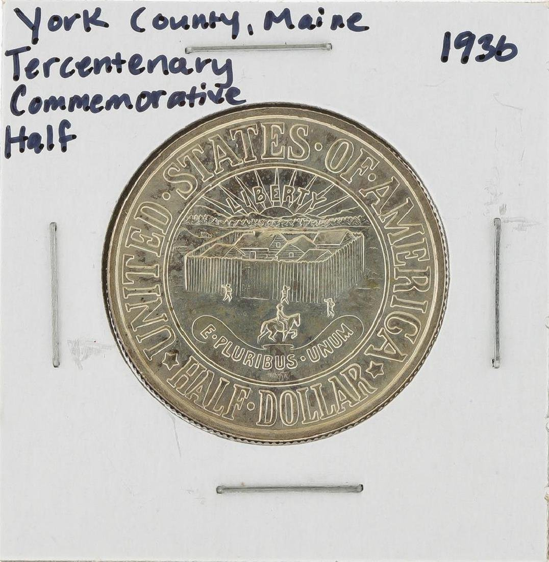 1936 York County, Maine Tercentenary Commemorative Half