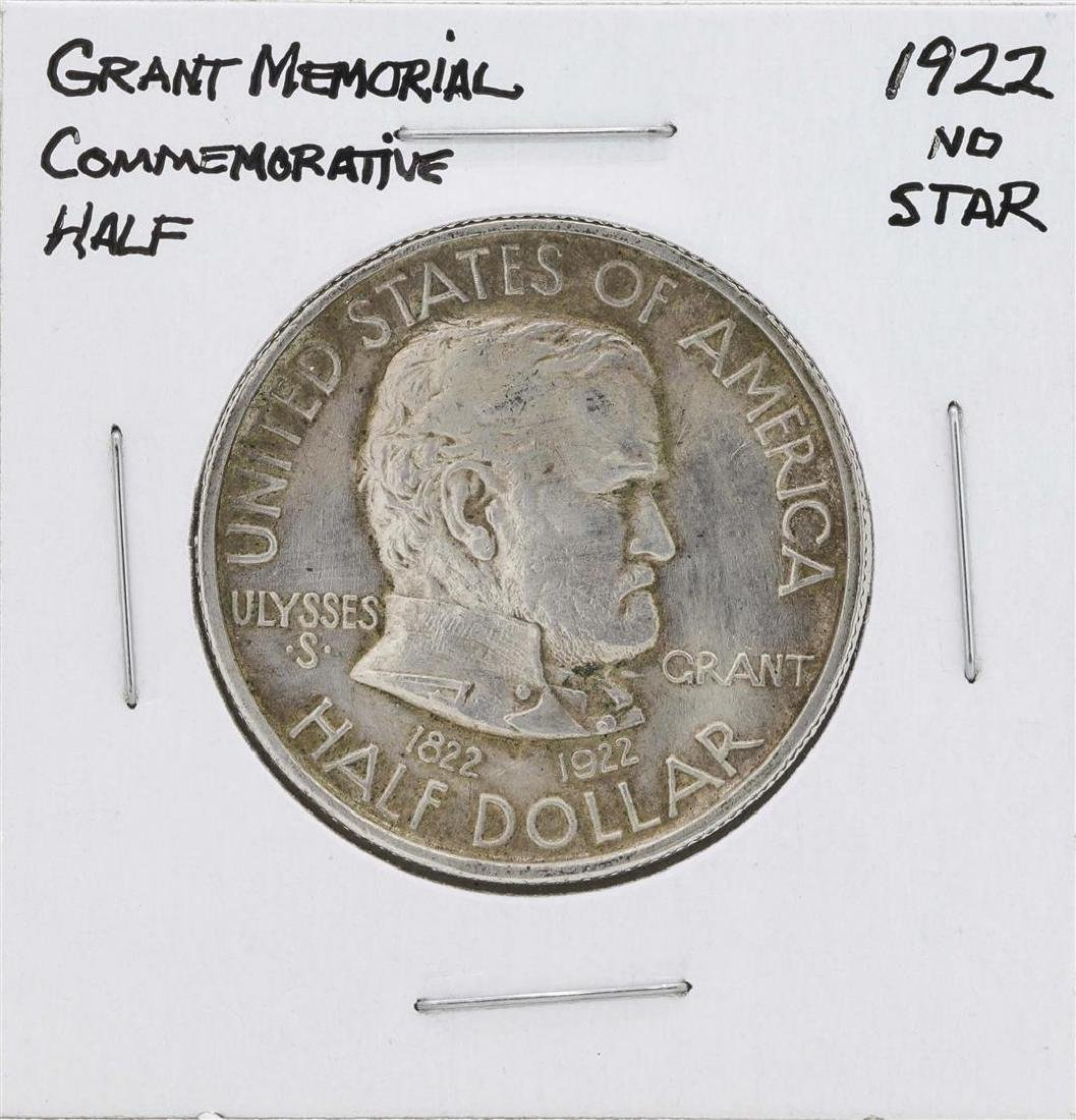 1922 Grant Memorial Commemorative Half Dollar Coin