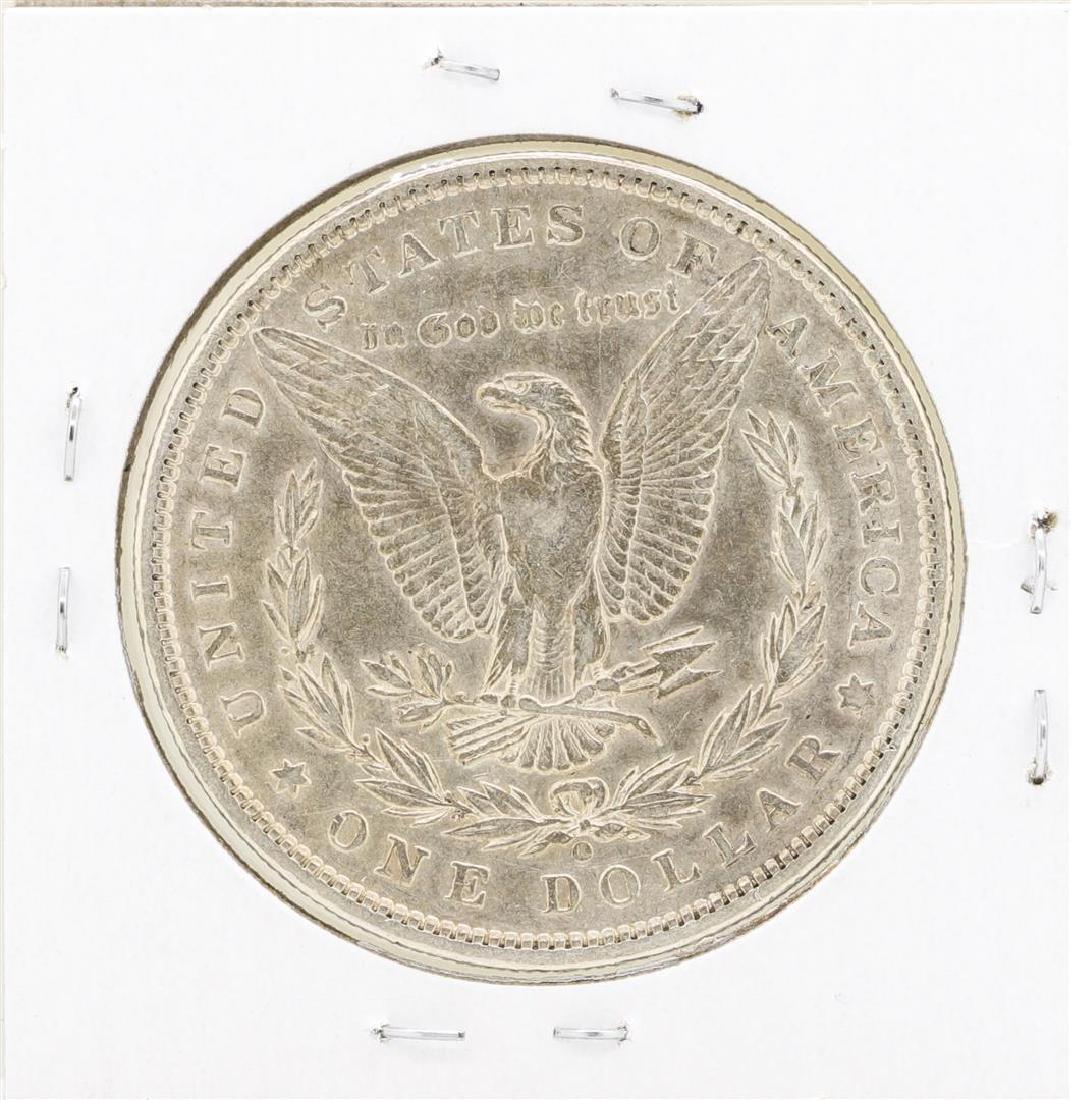 1897 $1 Morgan Silver Dollar Coin - 2