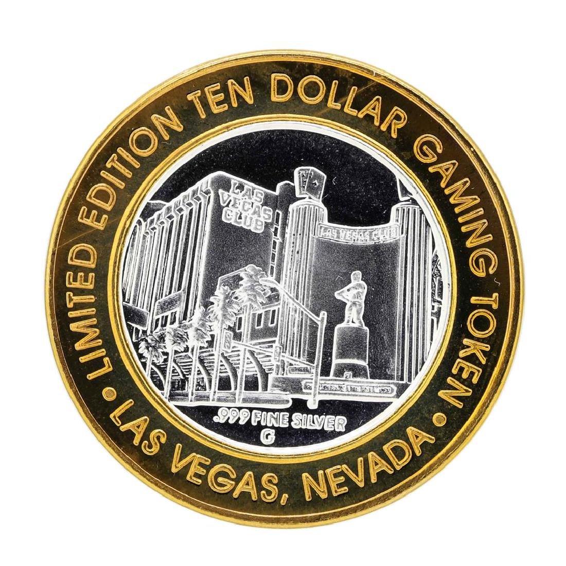 .999 Silver Las Vegas Club $10 Limited Edition Casino
