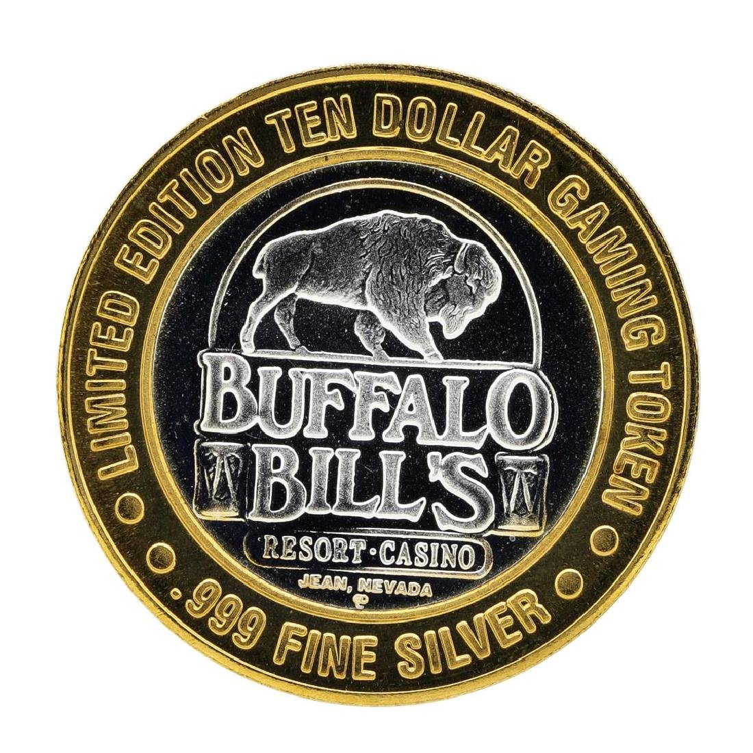 .999 Silver Buffalo Bills Resort & Casino $10 Limited