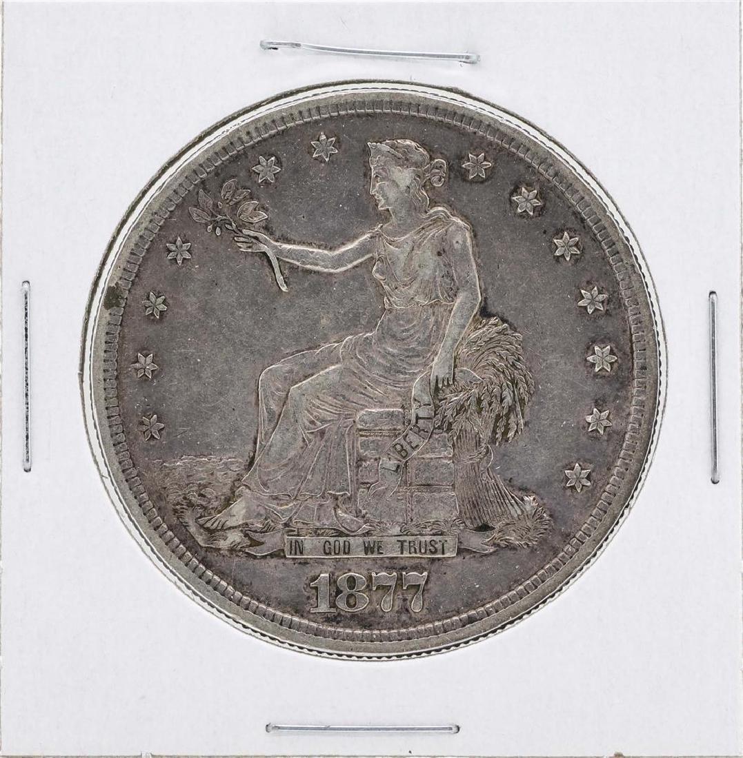 1877-S $1 Silver Trade Dollar Coin