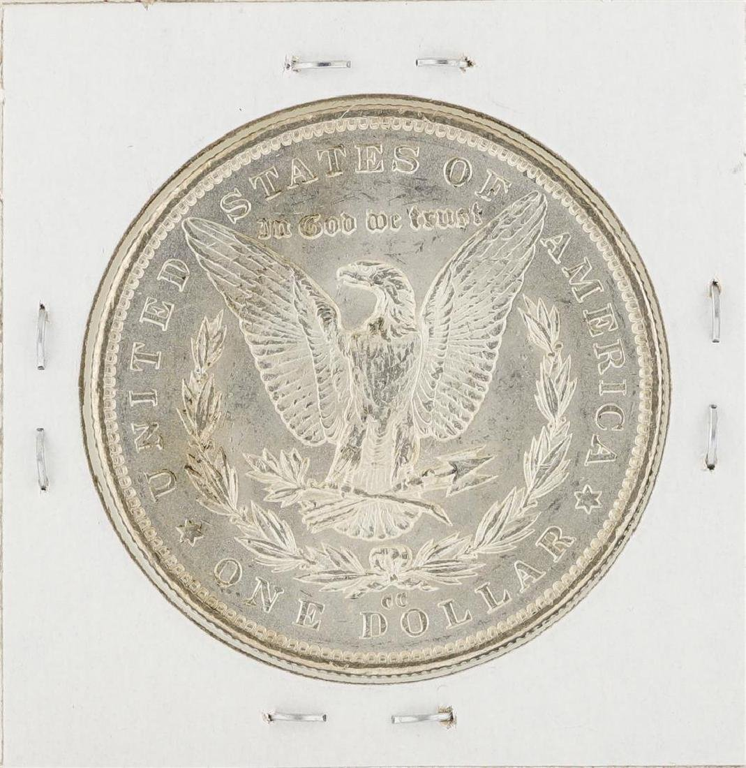 1891-CC $1 Morgan Silver Dollar Coin - 2