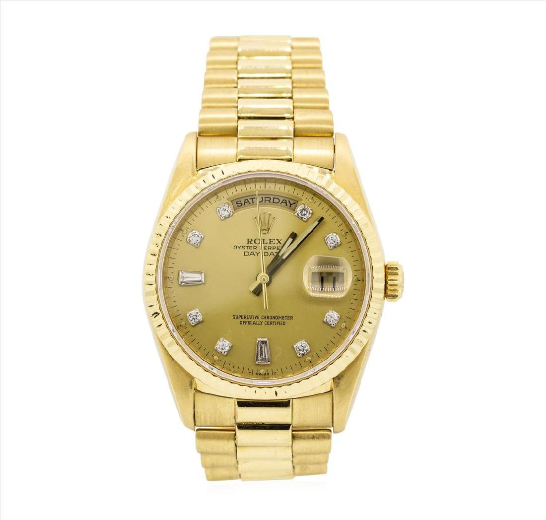Rolex President 18KT Yellow Gold DayDate Mens