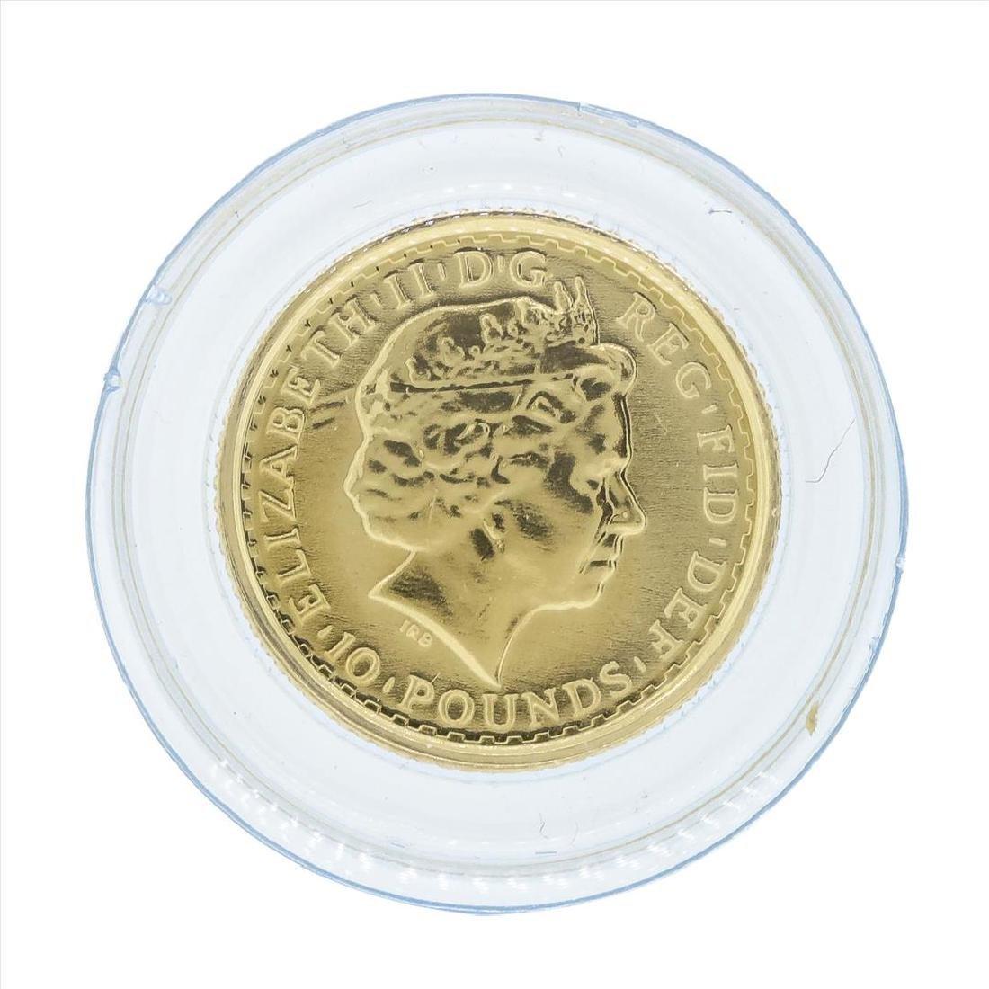 2008 Britannia 1/10 oz Proof Gold Coin