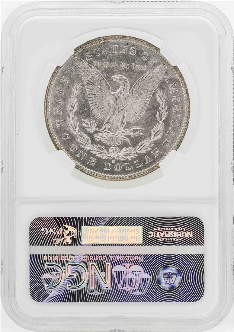 1878-S $1 Morgan Silver Dollar Coin NGC MS63 - 2