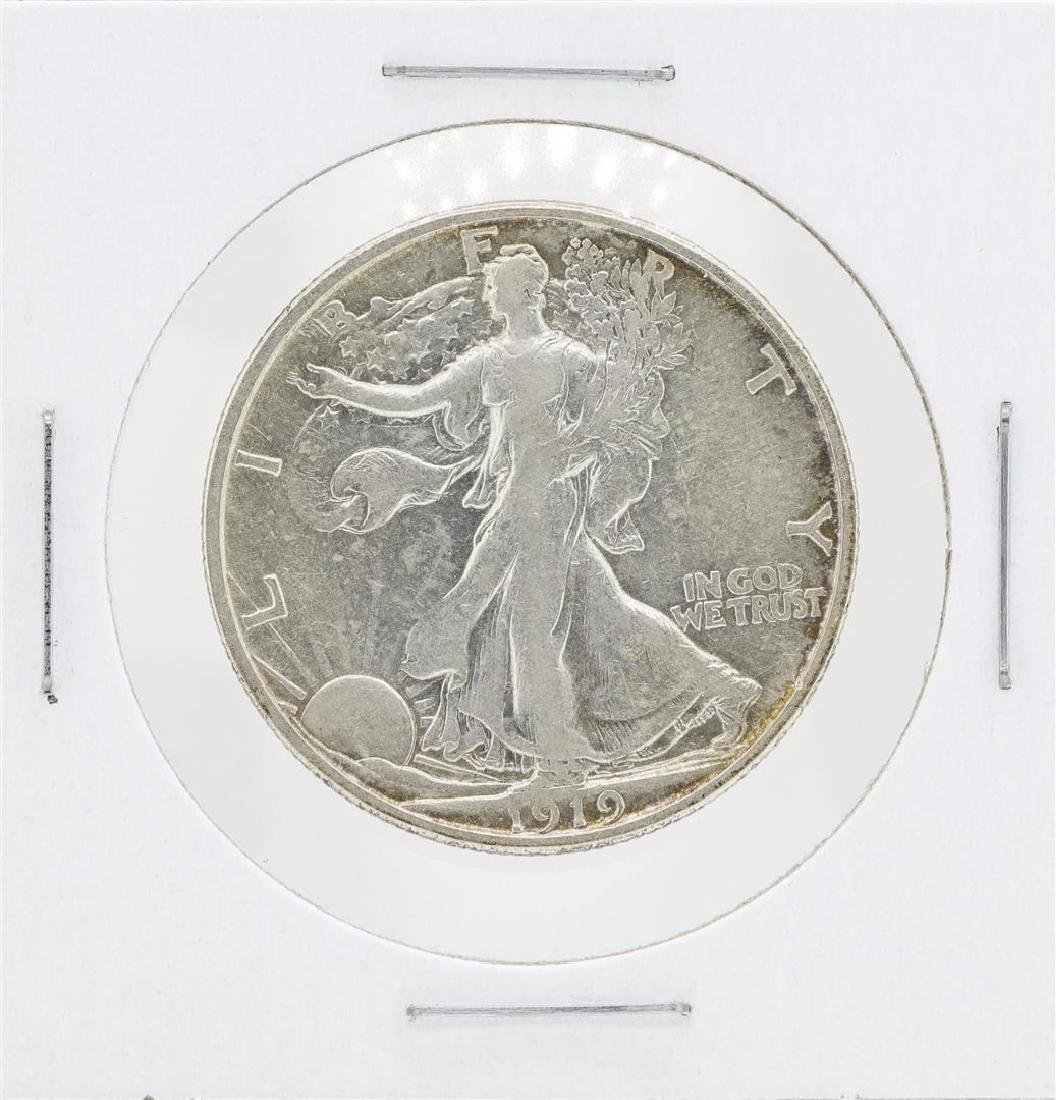 1919-S Walking Liberty Half Dollar Silver Coin