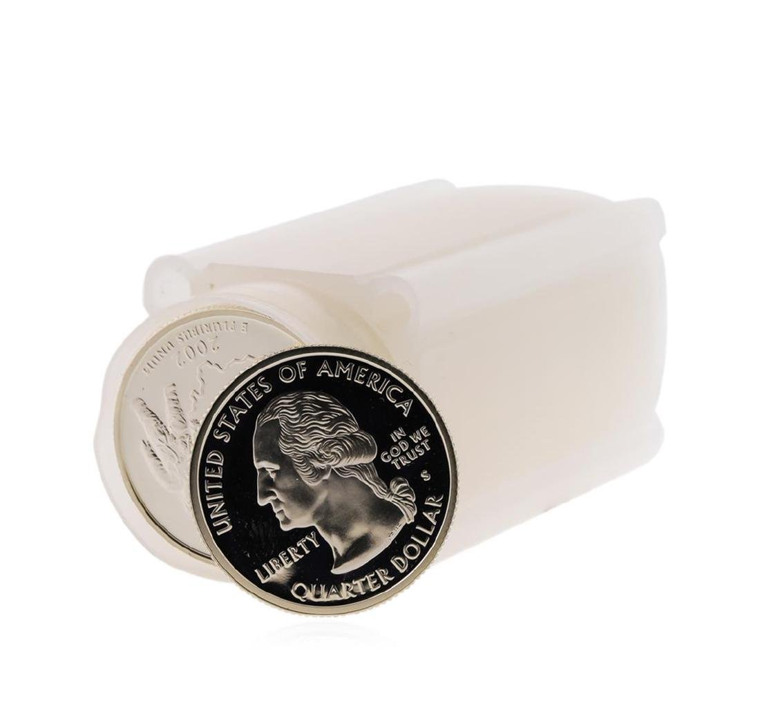 Roll of Modern Proof Silver Quarters Assorted Dates