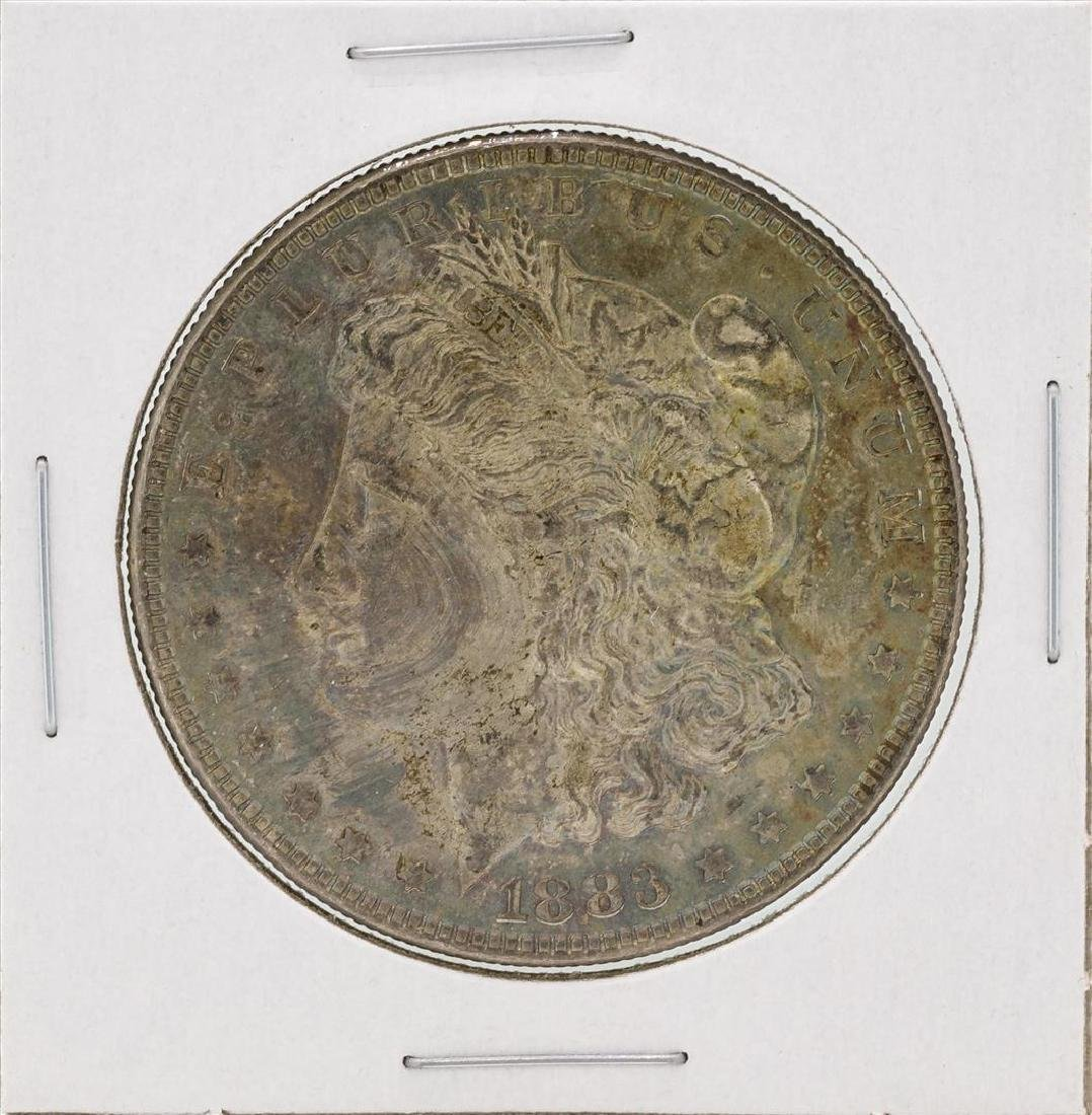 1883 $1 Morgan Silver Dollar Coin Great Toning