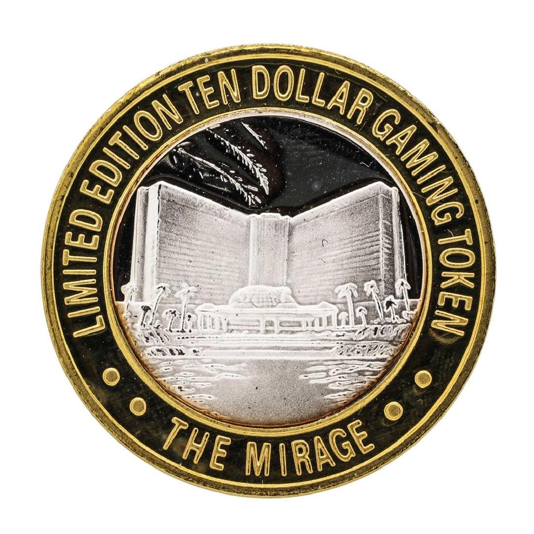 .999 Silver Mirage Las Vegas Nevada $10 Casino Limited