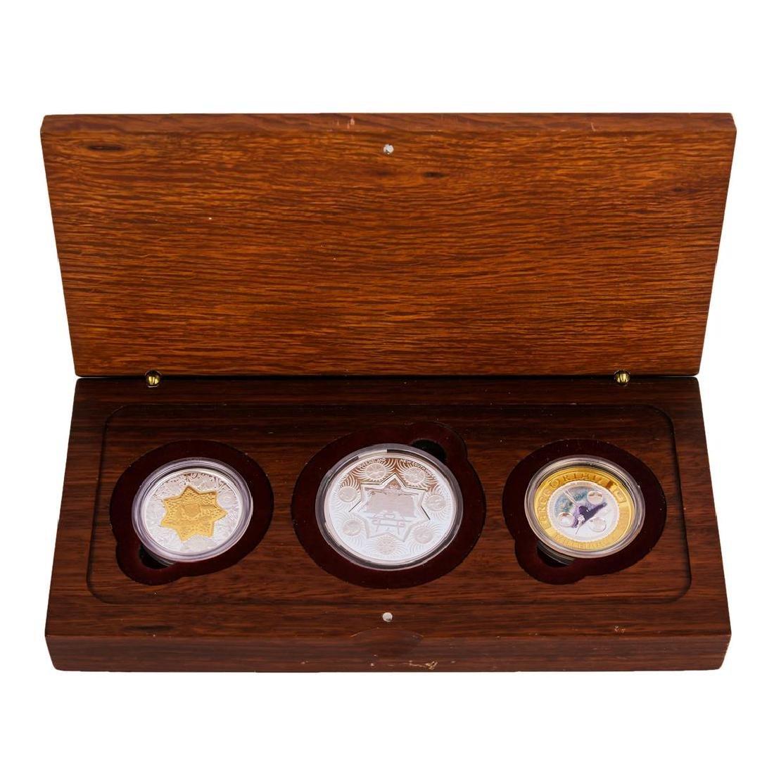 2001 Bi-Metal 21st Century Australian 3 Coin