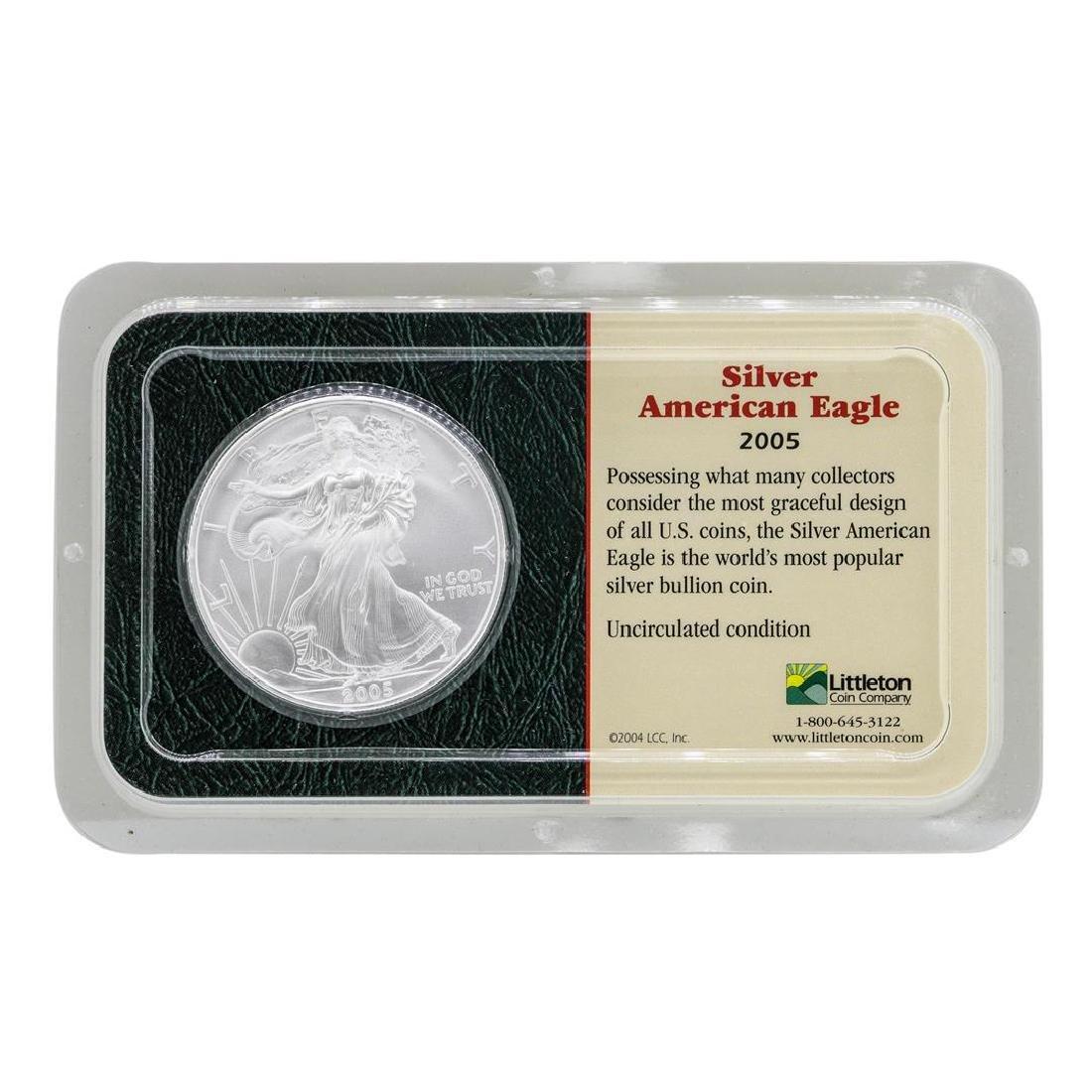 2005 $1 American Silver Eagle Coin