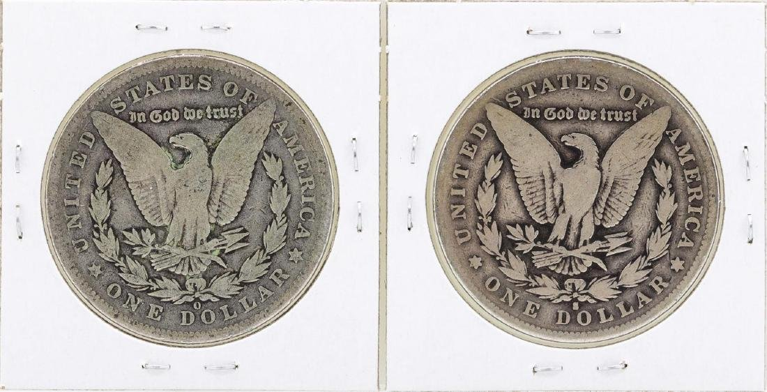 Lot of 1894-O & 1894-S $1 Morgan Silver Dollar Coins - 2