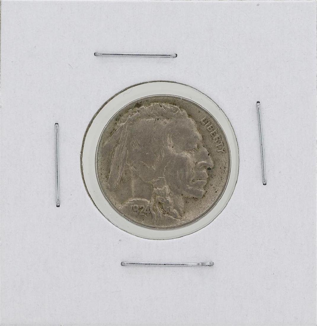 1924-D Buffalo Nickel Coin