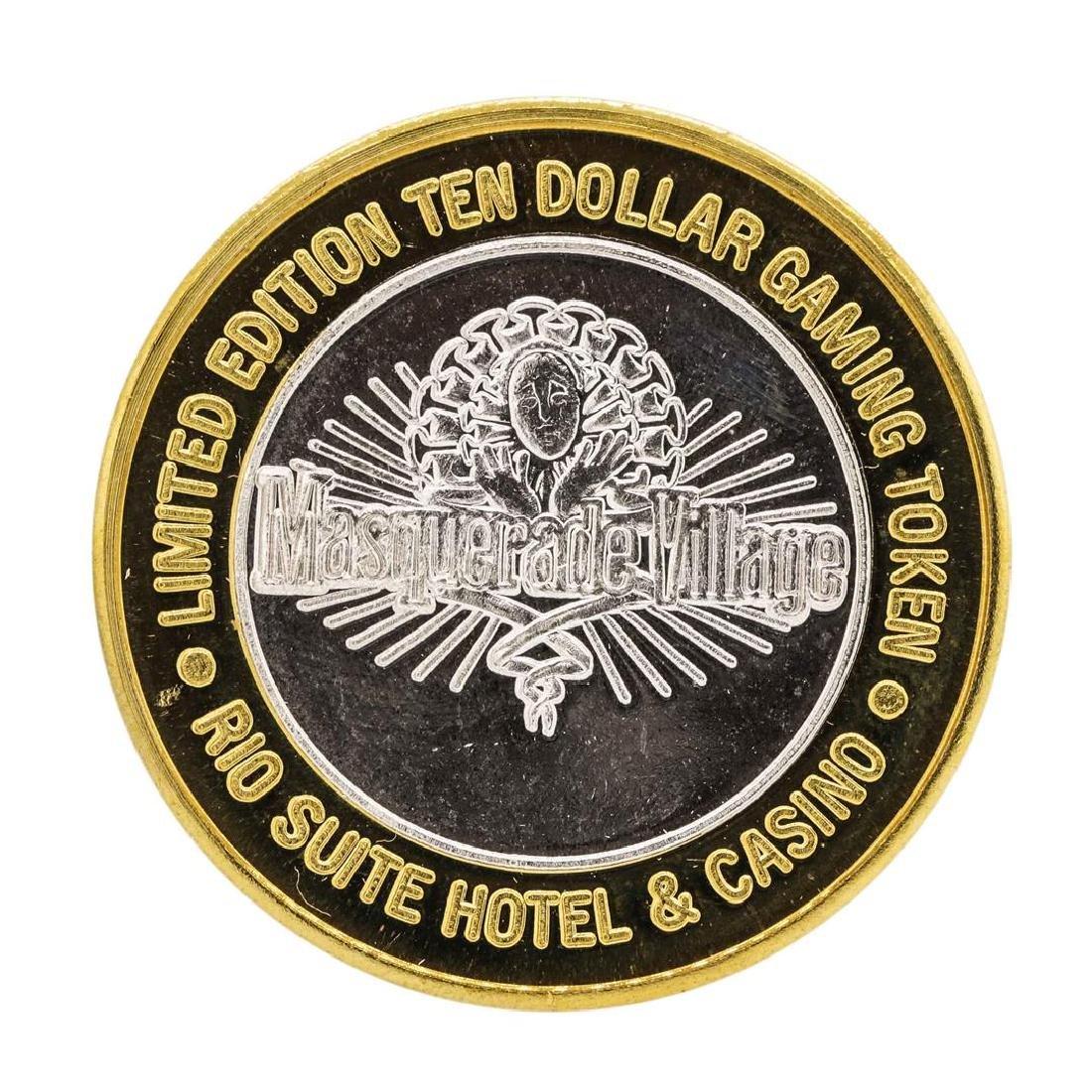 .999 Silver Rio Suite Hotel & Casino $10 Casino Limited