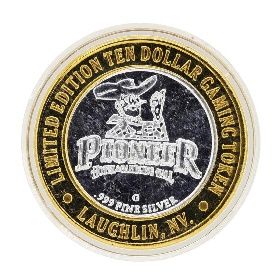 .999 Silver Pioneer Hotel & Gambling Hall $10 Casino - 2