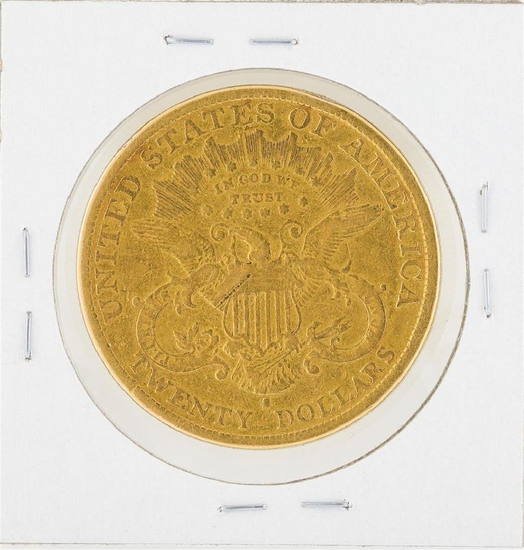 1879-S $20 Liberty Head Double Eagle Gold Coin - 2
