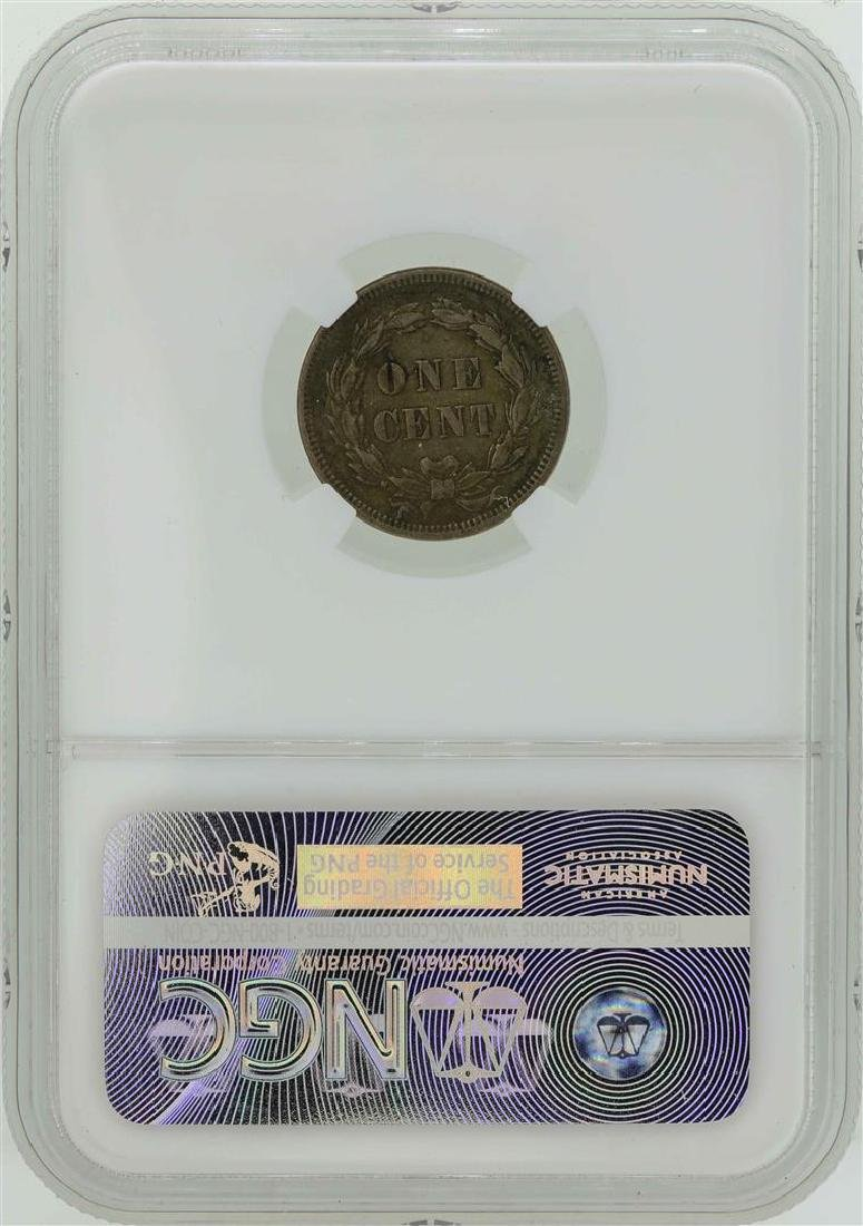 1859 Indian Head Penny Coin NGC AU50 - 2