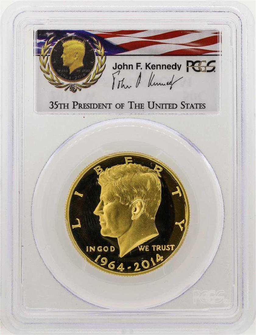 2014-W Kennedy 50th Anniversary First Strike Half