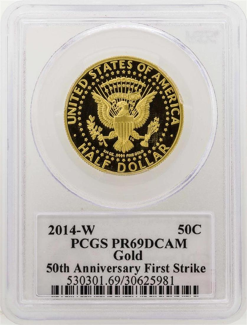 2014-W Kennedy 50th Anniversary First Strike Half - 2