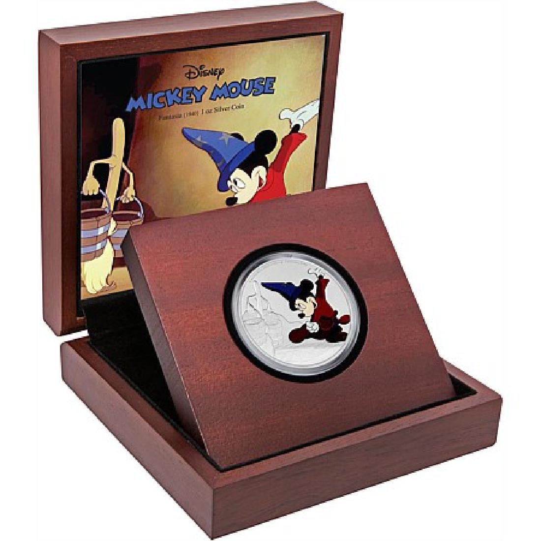 2017 1 oz Silver $2 Mickey Through the Ages: Fantasia - 3