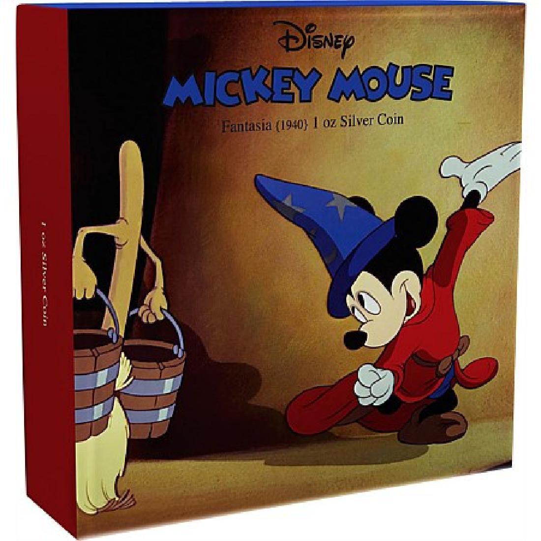 2017 1 oz Silver $2 Mickey Through the Ages: Fantasia - 5