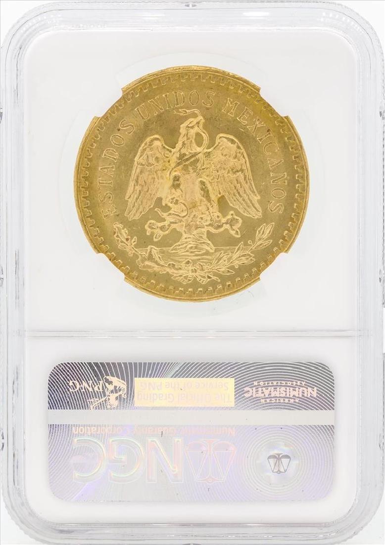 1926 Mexico 50 Pesos Gold Coin NGC MS63 - 2