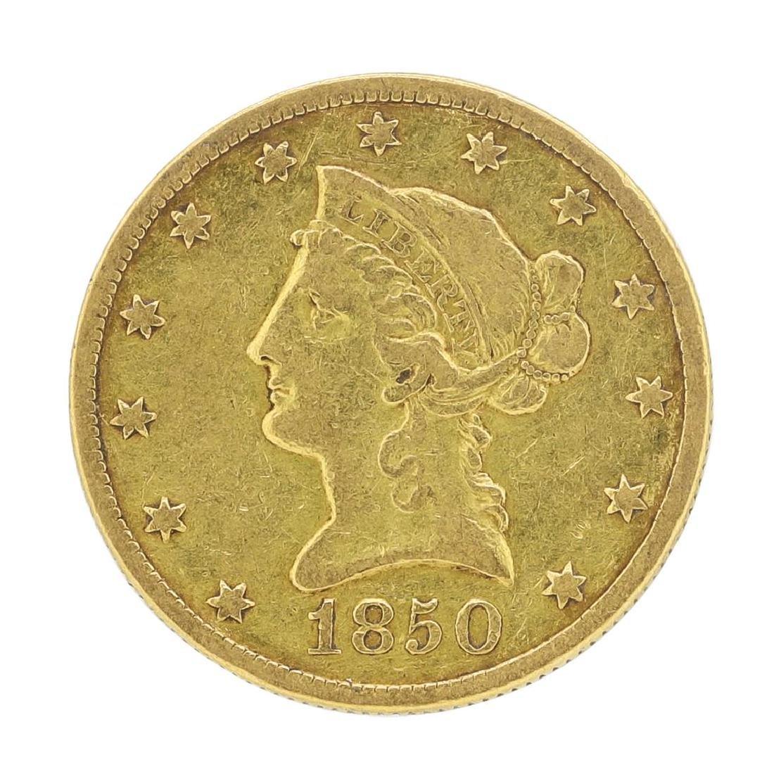 1850-O $10 Liberty Head Eagle Gold Coin