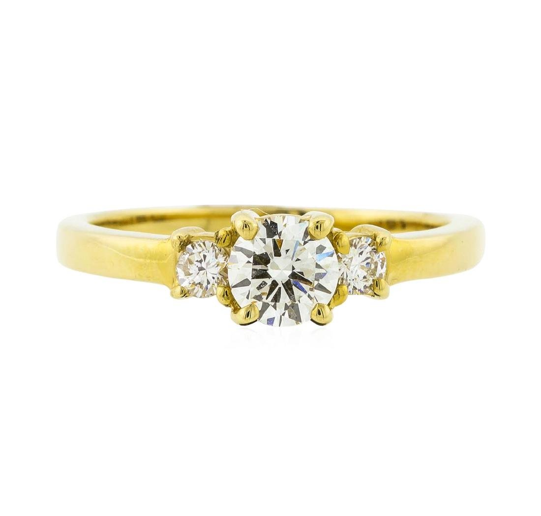 14KT Yellow Gold 0.66 ctw Diamond Ring