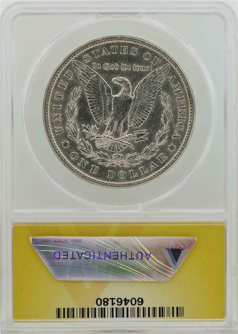 1904 $1 Morgan Silver Dollar Coin ANACS AU55 - 2