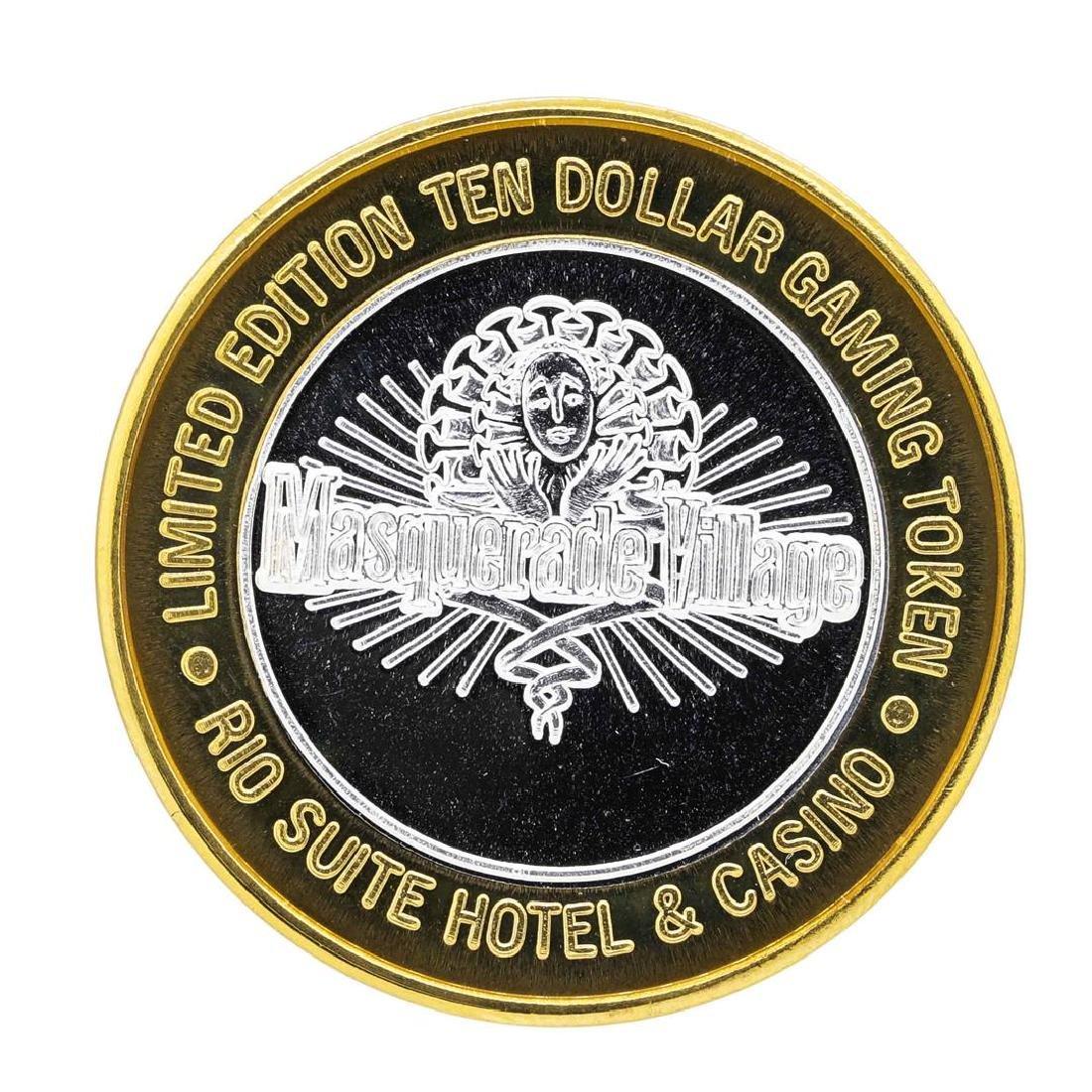 .999 Silver Rio Suite Hotel & Casino Las Vegas, NV $10