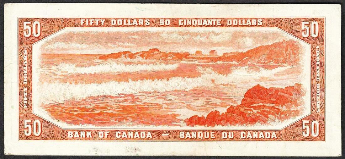 1954 $50 Bank of Canada Note - 2