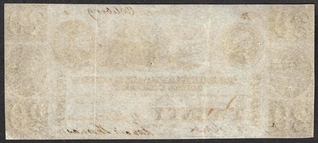 1840 $20 The Chesapeake & Ohio Canal Company Obsolete - 2