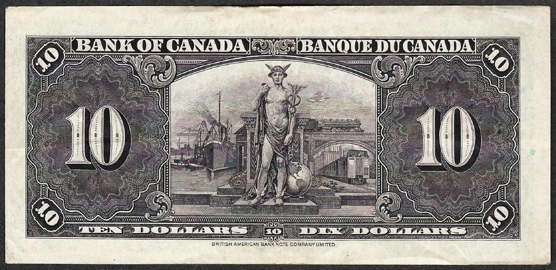 1937 $10 Bank of Canada Note - 2