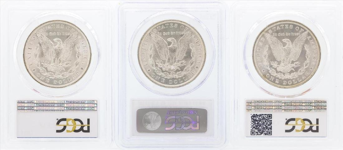 1885-1887 $1 Morgan Silver Dollar Coins PCGS MS64 - 2