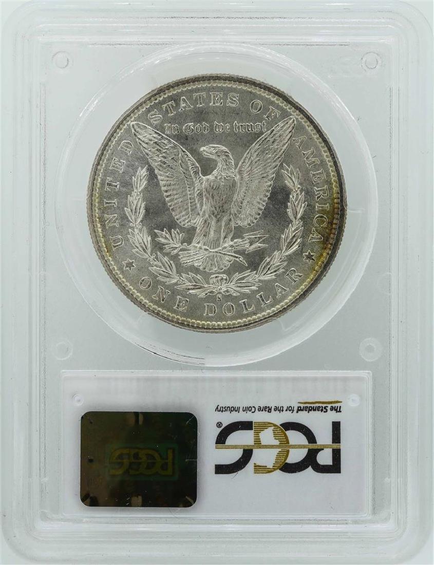 1881-S $1 Morgan Silver Dollar Coin PCGS MS65+ - 2