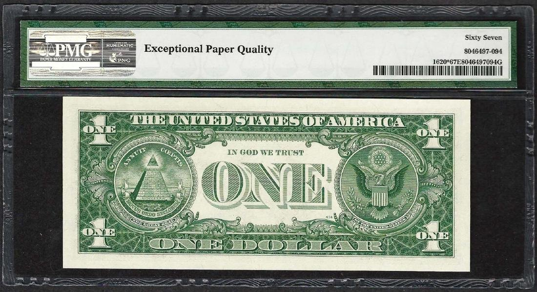 1957A $1 Silver Certificate STAR Note Fr.1620* PMG - 2