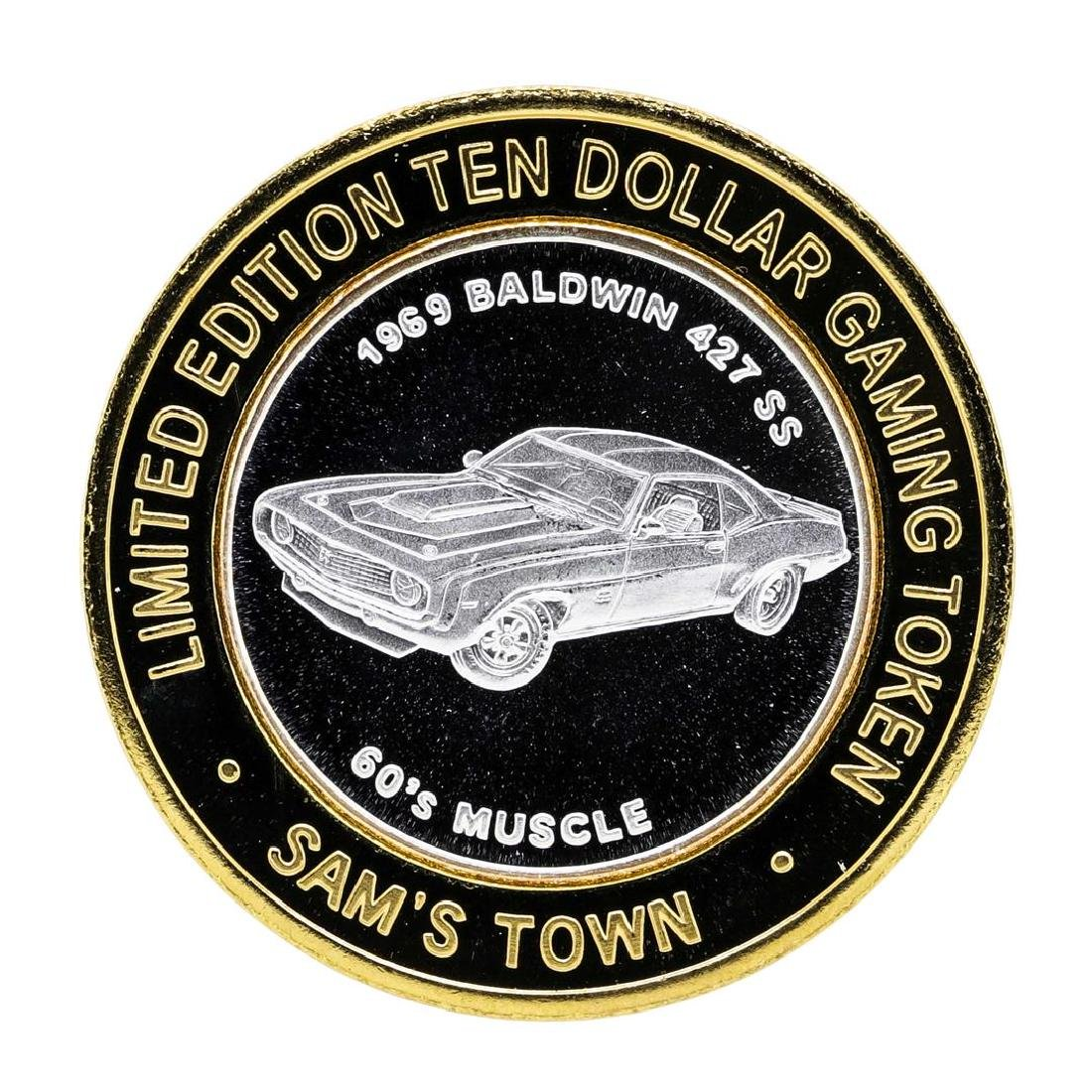 .999 Silver Sam's Town Las Vegas Nevada $10 Casino