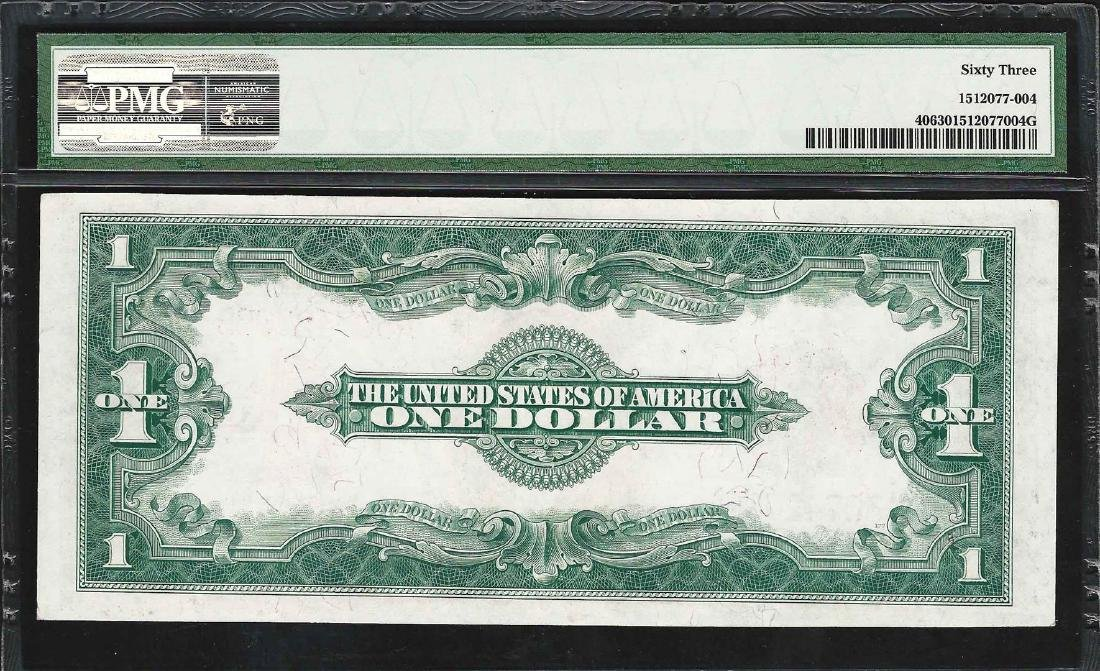 1923 $1 Legal Tender Note Fr.40 PMG Choice Uncirculated - 2