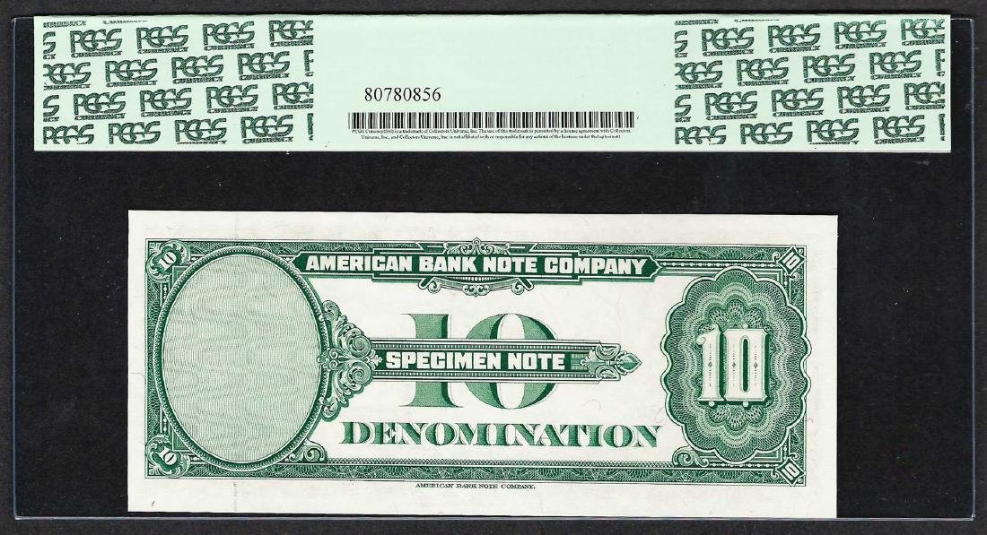 1929 American Bank Note Company Test Note 10 Units PCGS - 2